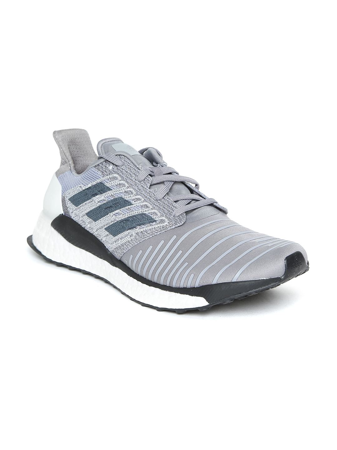ba9cf01543d03 Buy ADIDAS Men Grey Solar Boost Running Shoes - Sports Shoes for Men ...