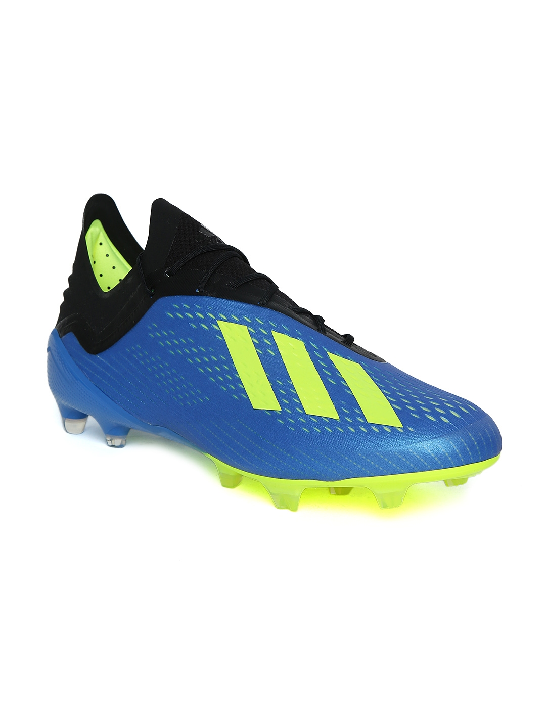 baf0fa8209b8 Buy ADIDAS Men Blue   Black X 18.1 Firm Ground Football Shoes ...