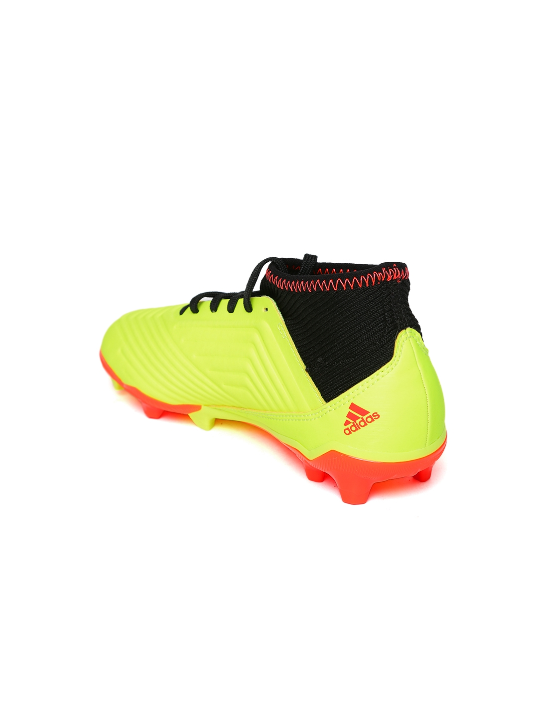 ebed21bbb27 Buy ADIDAS Boys Neon Yellow Predator 18.3 Firm Ground Football Shoes ...