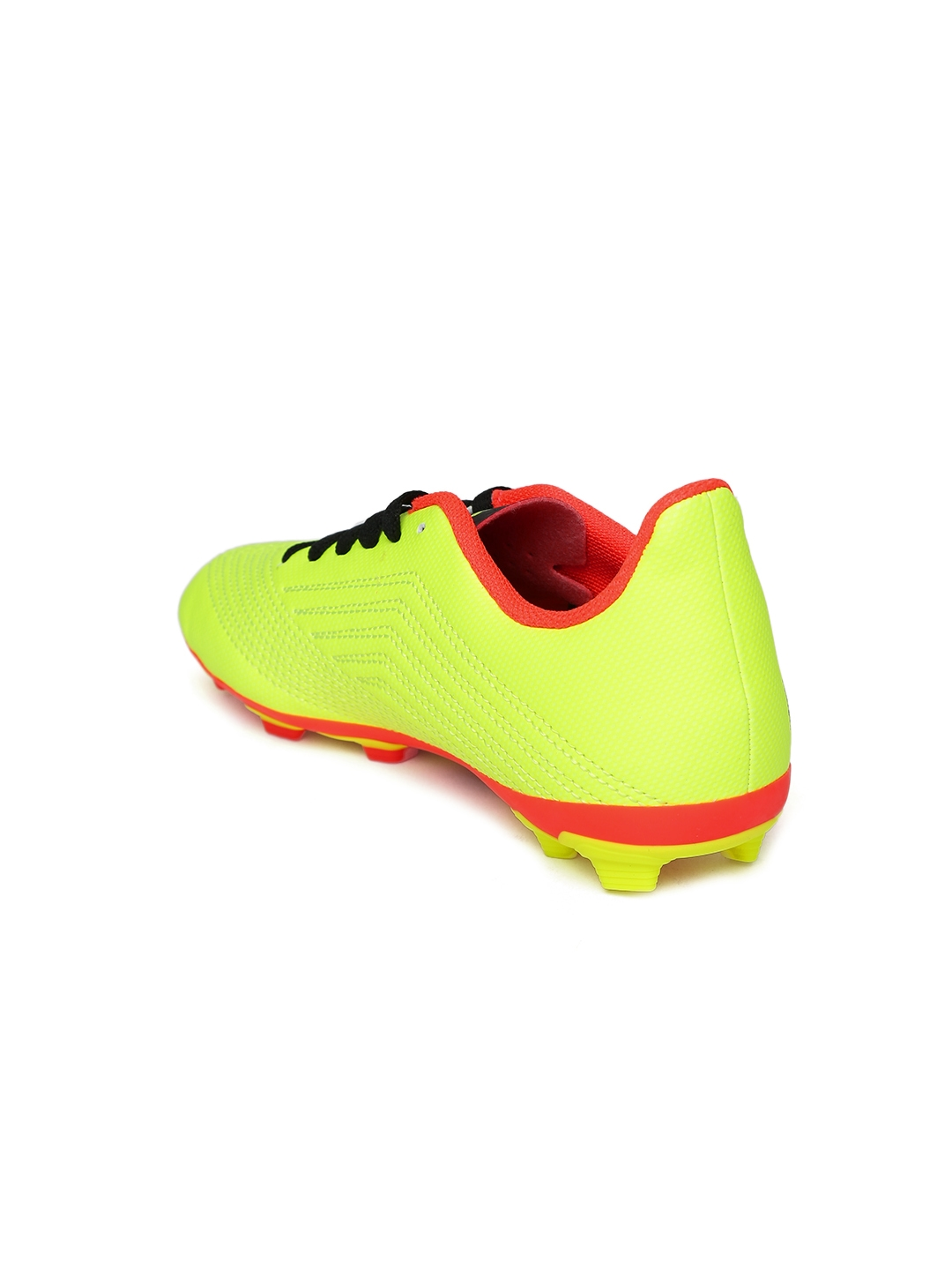 af9be549409d Buy ADIDAS Boys Neon Yellow Predator 18.4 FXG J Football Shoes ...