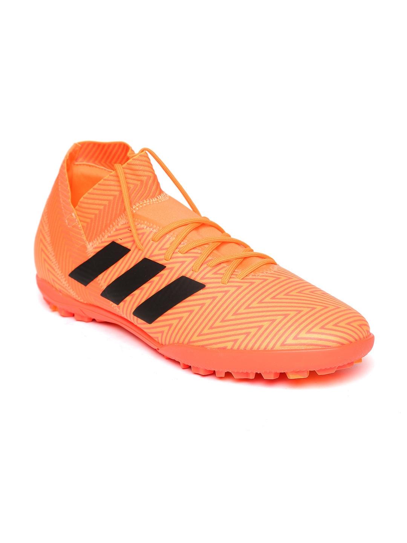 cb3a1dde455e Buy ADIDAS Men Neon Orange NEMEZIZ TANGO 18.3 TF Football Shoes ...