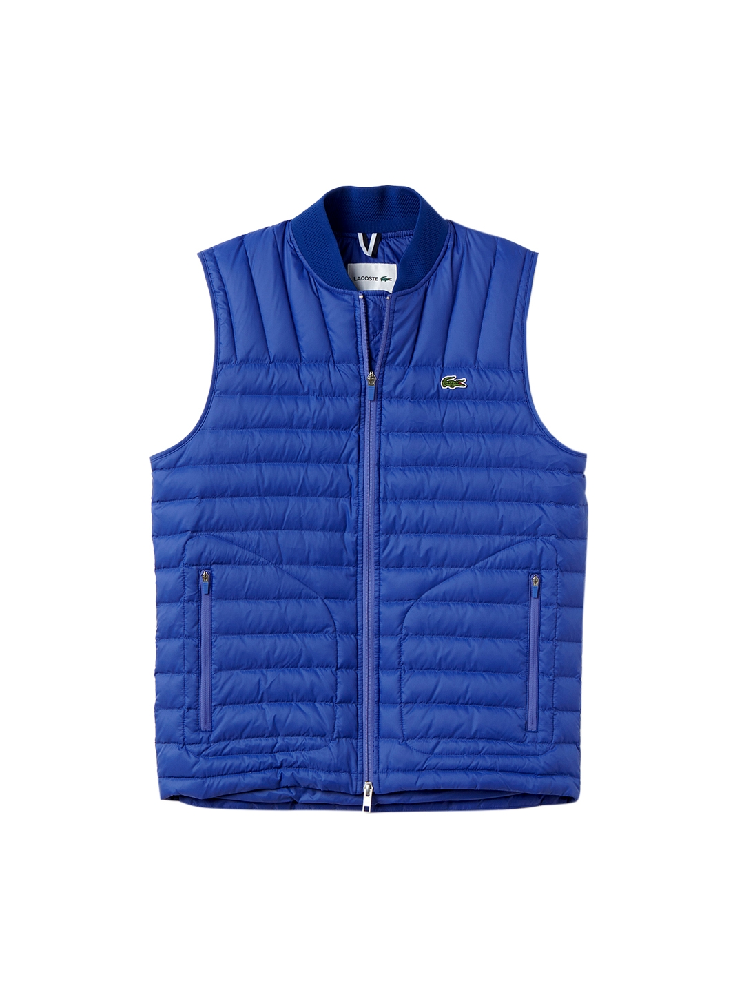 b16e513ff91d Buy Lacoste Men Blue Solid Water Resistant Quilted Jacket - Jackets ...