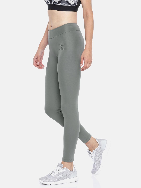 fa402aa40 Buy Hummel Women Grey BLANIE DRY ZONE Tights - Tights for Women ...