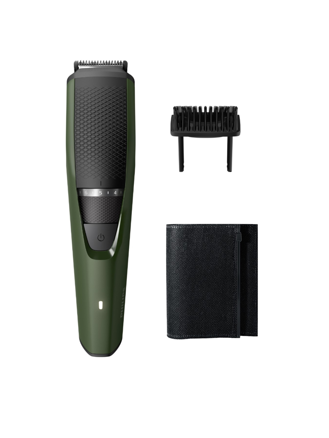 Philips Men BT3211/15 Series 3000 Rechargeable Beard Trimmer   Olive Green