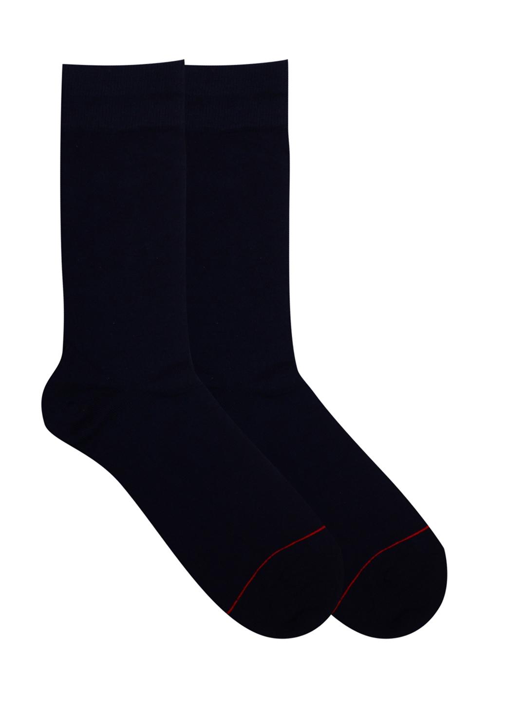 Soxytoes Plain Crew Length Men's Cotton Socks 1 Pair