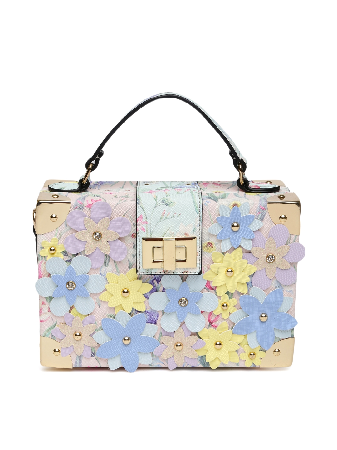 82de7202b6d Buy ALDO Multicoloured Embellished CAMPOLANO Box Clutch - Clutches ...