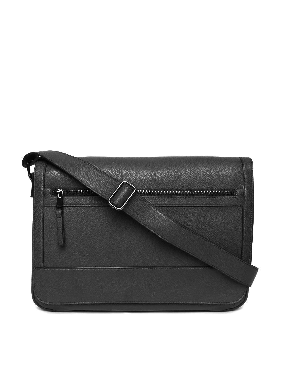 c2d9b5238f6 Buy ALDO Women Black Solid Leather Laptop Bag - Laptop Bag for Women ...