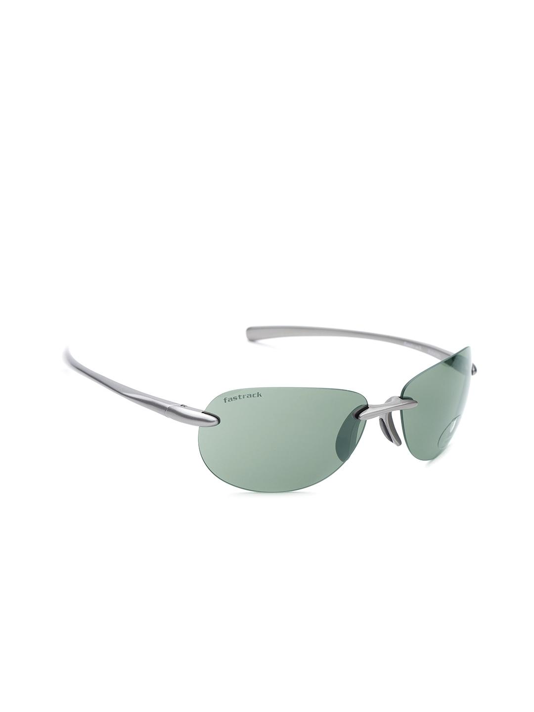 8f07d594ba14 Buy Fastrack Men UV Protected Oval Sunglasses NBR054GR3 - Sunglasses ...