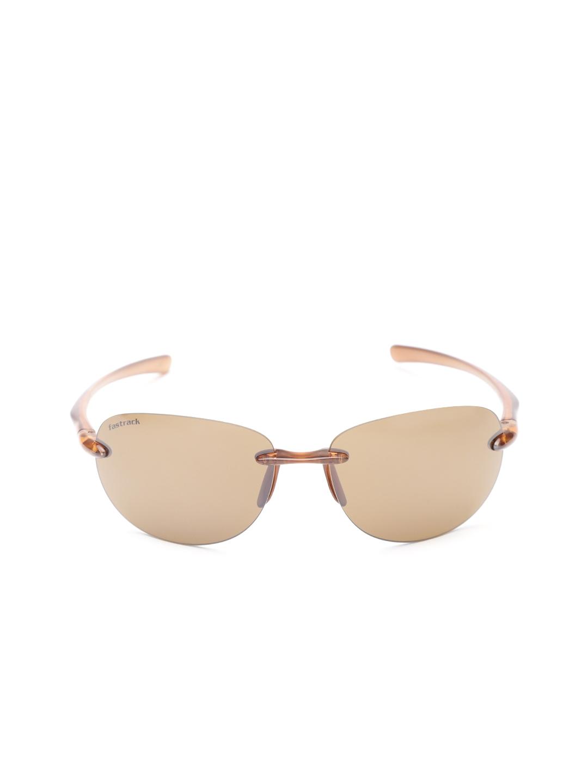 cbcd35f3f1d2 Buy Fastrack Men Rimless Oval Sunglasses NBR053SL2 - Sunglasses for ...