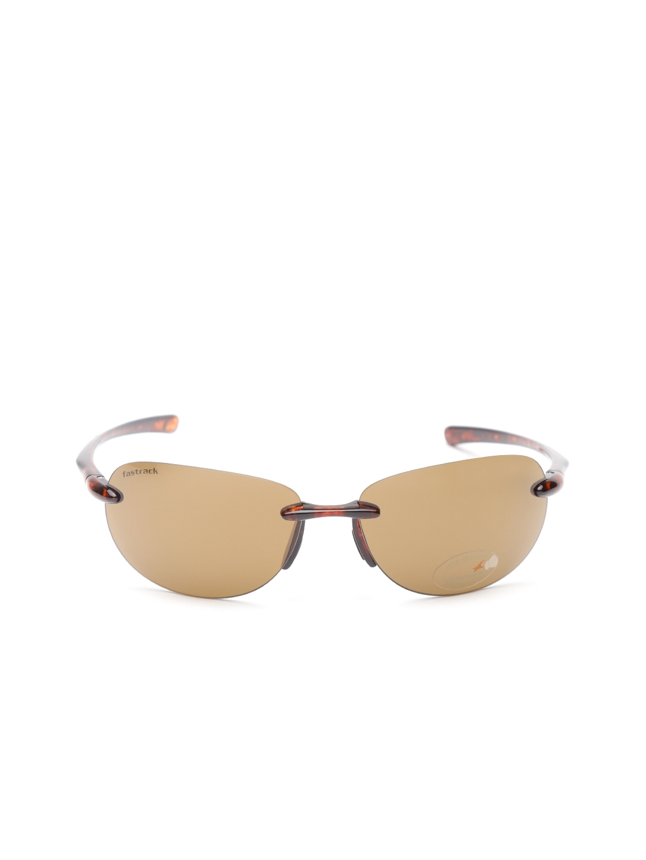 48143c135e8e Buy Fastrack Men Rimless Oval Sunglasses NBR054BR2 - Sunglasses for ...