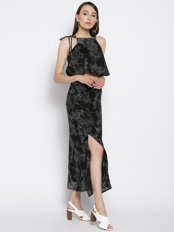 Black Two Piece Dresses
