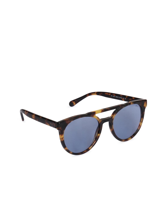 Buy Polo Ralph Lauren Men Oval Sunglasses 0PH4134530972 - Sunglasses ...