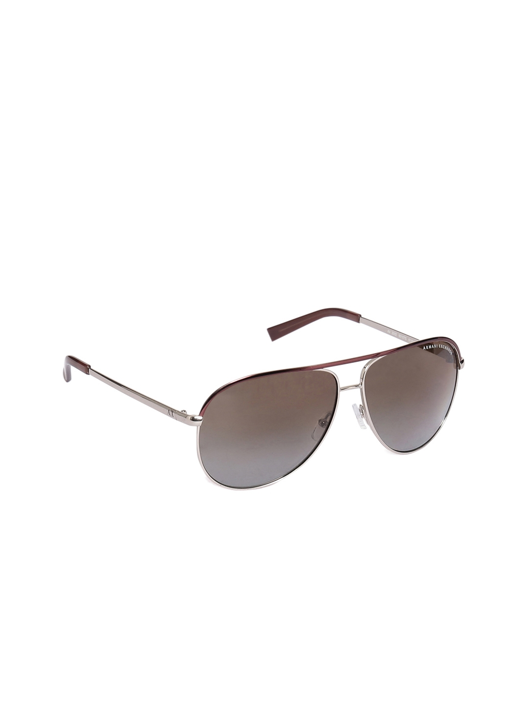 43c6655135 Buy Armani Exchange Unisex Aviator Sunglasses 0AX20026010T561 ...