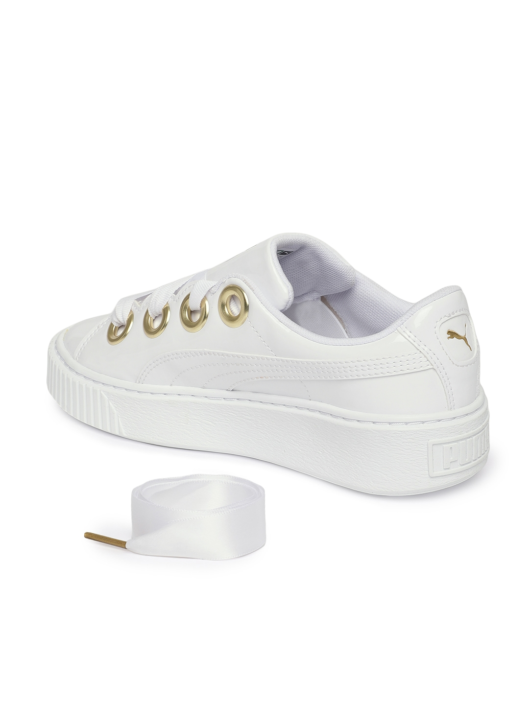 b3c2d940311 Buy Puma Women White Platform Kiss Sneakers - Casual Shoes for Women ...