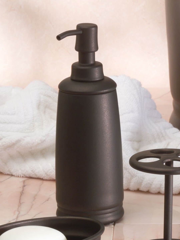Buy INTERDESIGN Bronze Soap Dispenser   Bathroom Accessories For ...