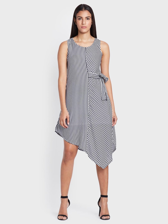 Striped a Line Dresses