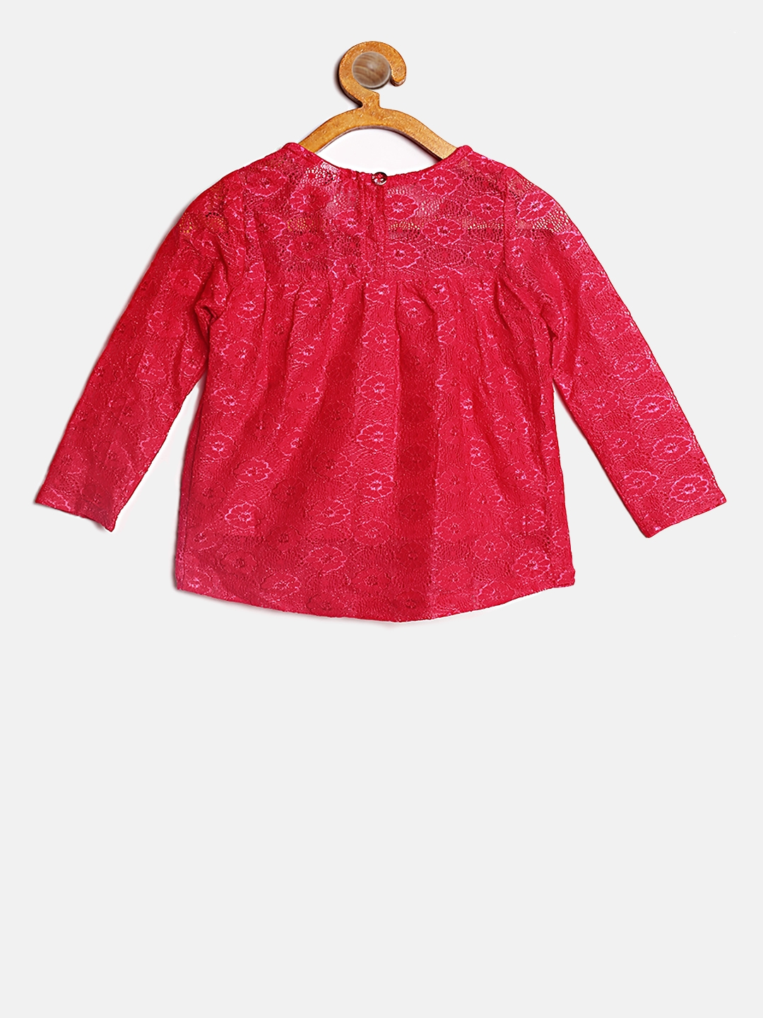 a1f5f10bdca0e3 Buy 612 League Girls Pink Lace Top - Tops for Girls 6592018