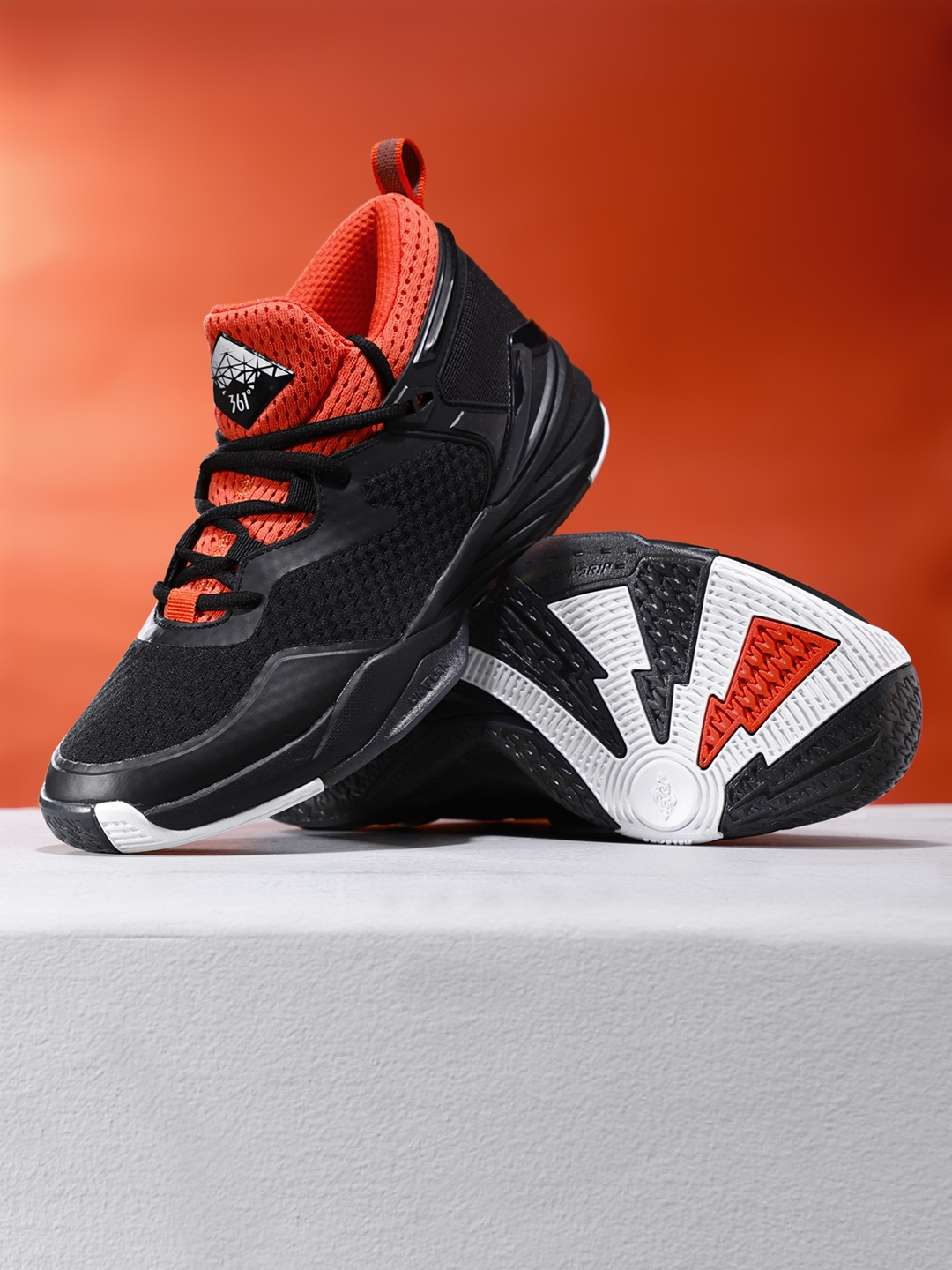 00f87495f55 Buy 361 Degree Men Black Professional Basketball Shoes - Sports ...