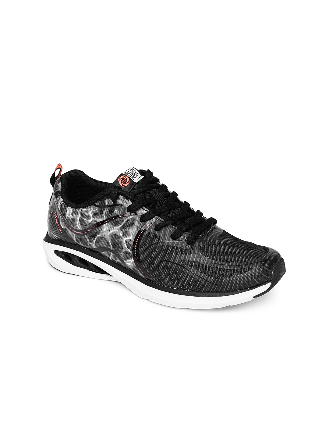 f2405e21780 Buy 361 Degree Women Black Printed Lightweight Running Shoes ...