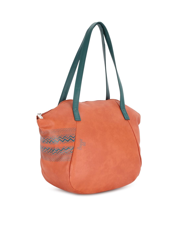 355dbe03129d Buy Baggit Orange Solid Shoulder Bag - Handbags for Women 6606286 ...