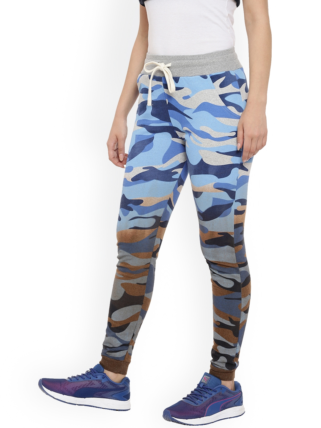 cafde530c405b Buy Campus Sutra Women Multicoloured Ombre & Camouflage Print ...