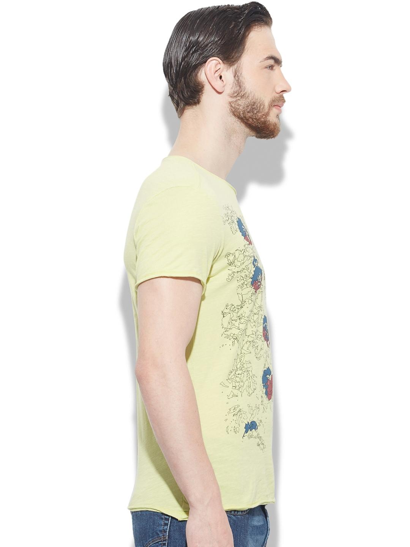 Buy Sisley Men Green Printed T Shirt - Tshirts for Men 662193  8c05d44ec