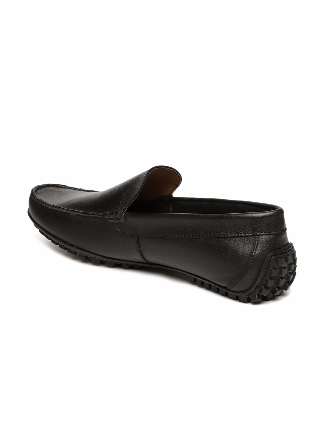 Black Leather Driving Shoes