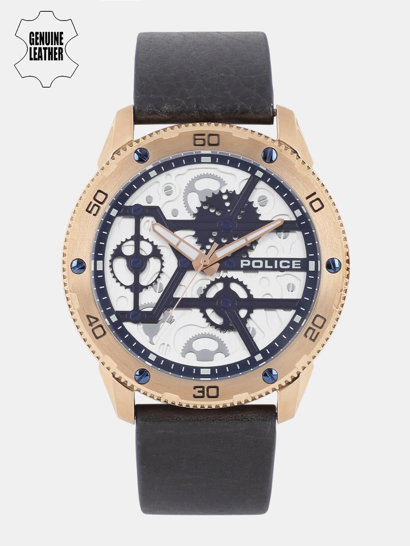 d3d0a877a57 Buy Police Men White   Navy Blue Analogue Watch PL14692JSR04 BBD1 ...