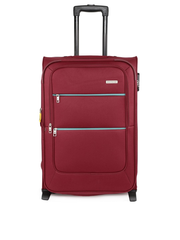 72abed1237 Buy Aristocrat Unisex Red VITO 2W STROLLY 65 Medium Trolley Bag ...