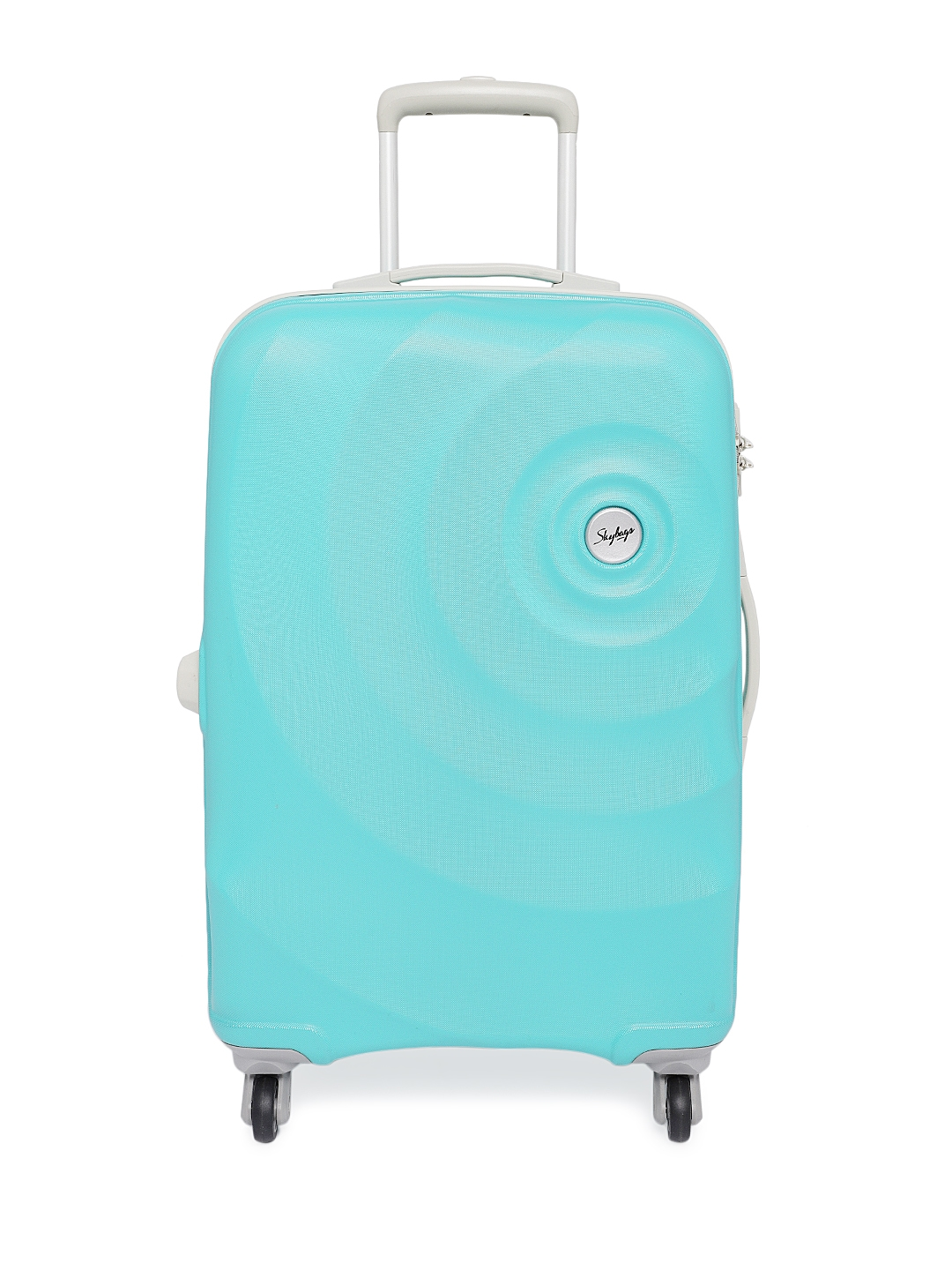 Skybags Unisex Blue MINT STROLLY 67 360 Medium Trolley Suitcase