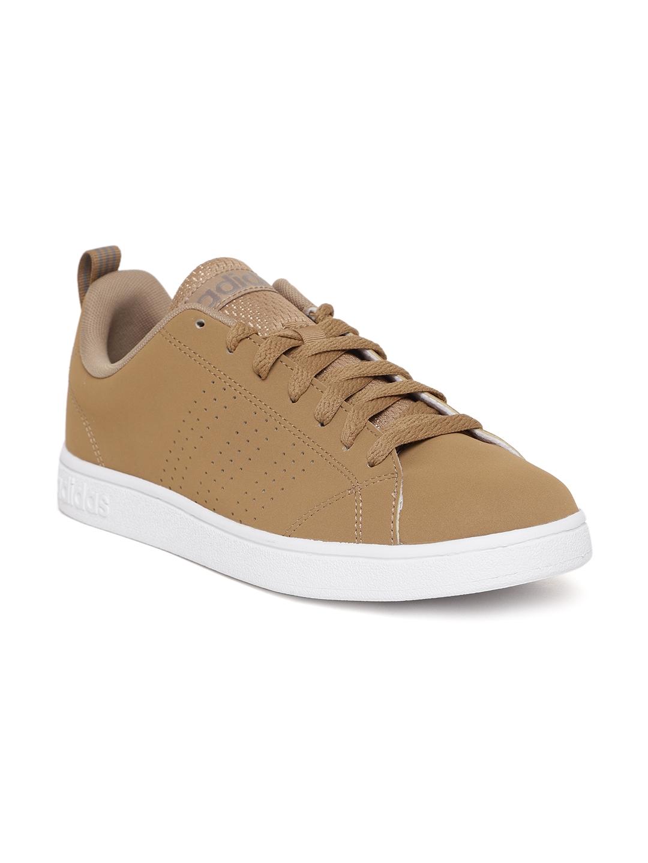 finest selection 53346 acfde ADIDAS Men Brown VS Advantage Tennis Shoes