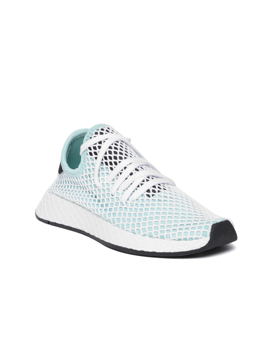 42403418fe22f Buy Adidas Originals Women Green   White DEERUPT Running Shoes ...