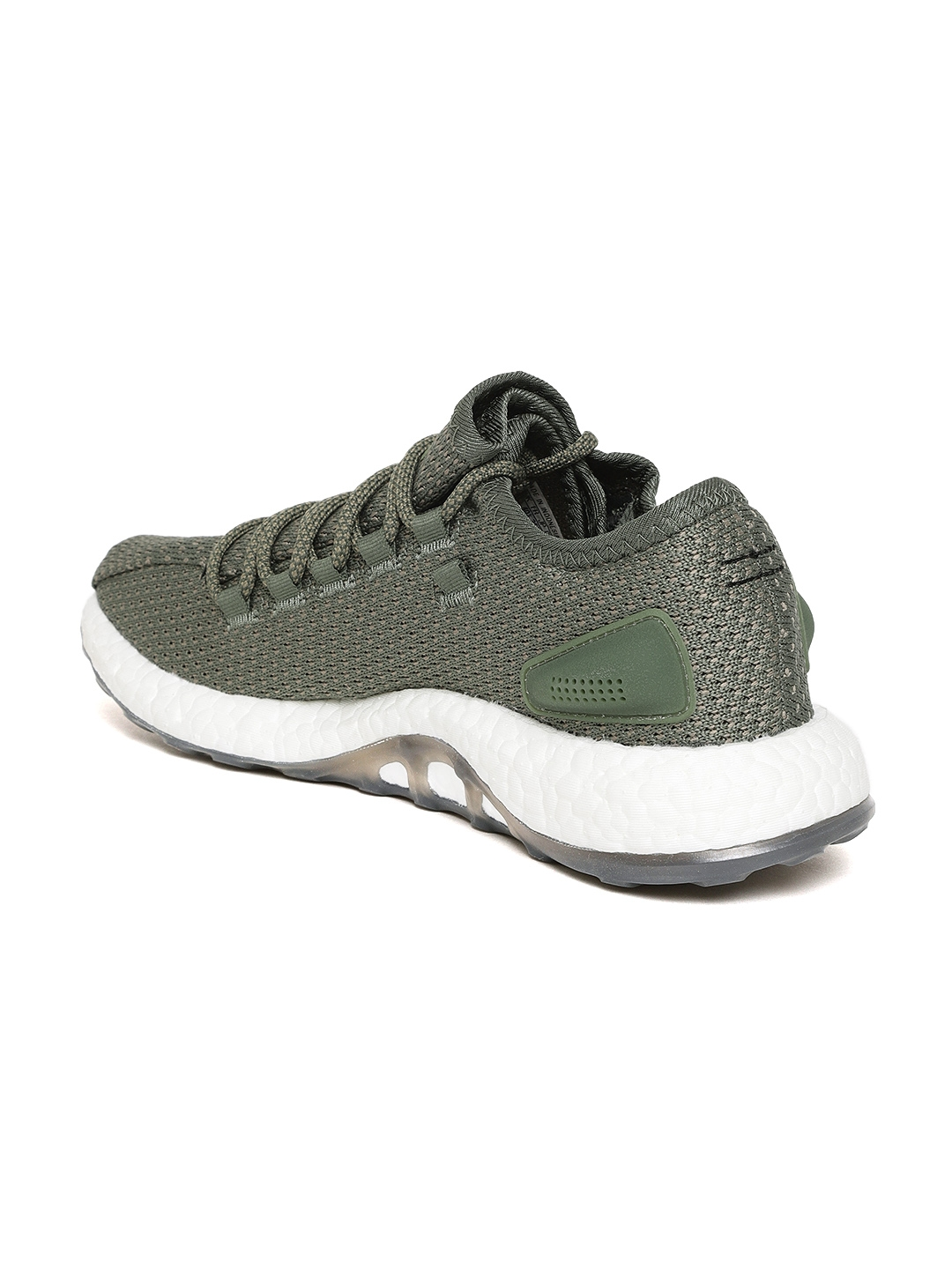 db13167db Buy ADIDAS Men Olive Green Pureboost Clima Running Shoes - Sports ...