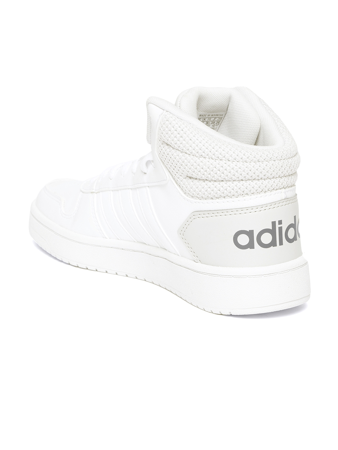 Buy ADIDAS Men White VS Hoops Mid 2.0 Basketball Shoes - Sports ... dc2483f0d