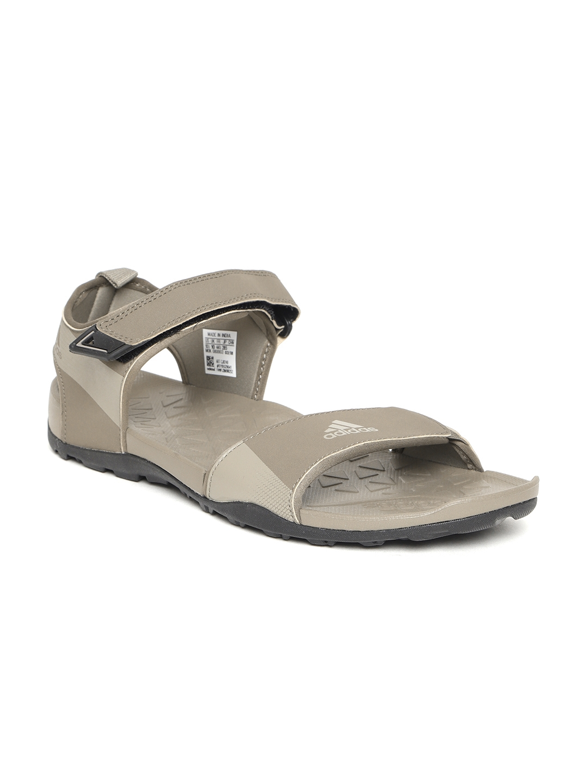 3c8b5b145446 Buy ADIDAS Men Taupe Cyran Sports Sandals - Sports Sandals for Men ...