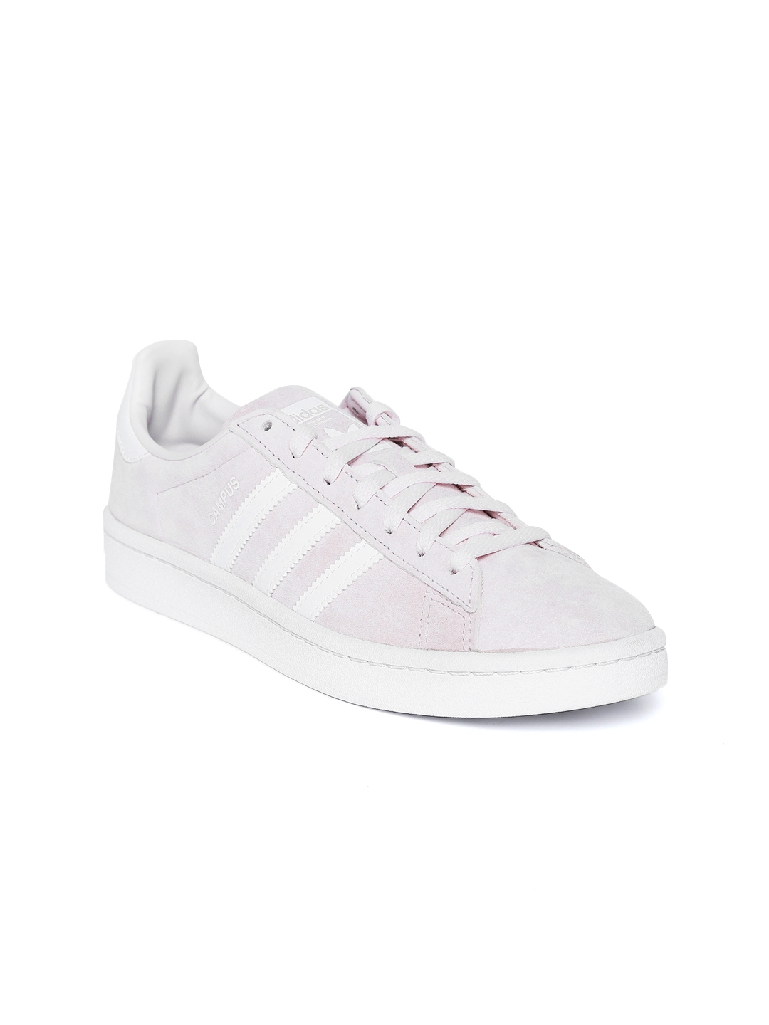 Buy Adidas Originals Women Lavender Campus Nubuck Leather Sneakers ... faaa014bc7