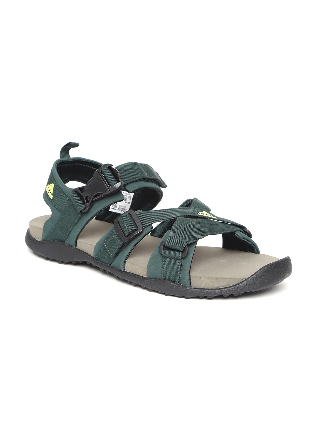 405535b0c Buy ADIDAS Men Green GLADI Sports Sandals - Sports Sandals for Men ...