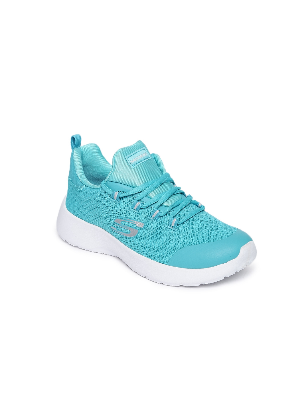 0325a1450d5 Buy Skechers Girls Teal DYNAMIGHT Training Shoes - Sports Shoes for ...