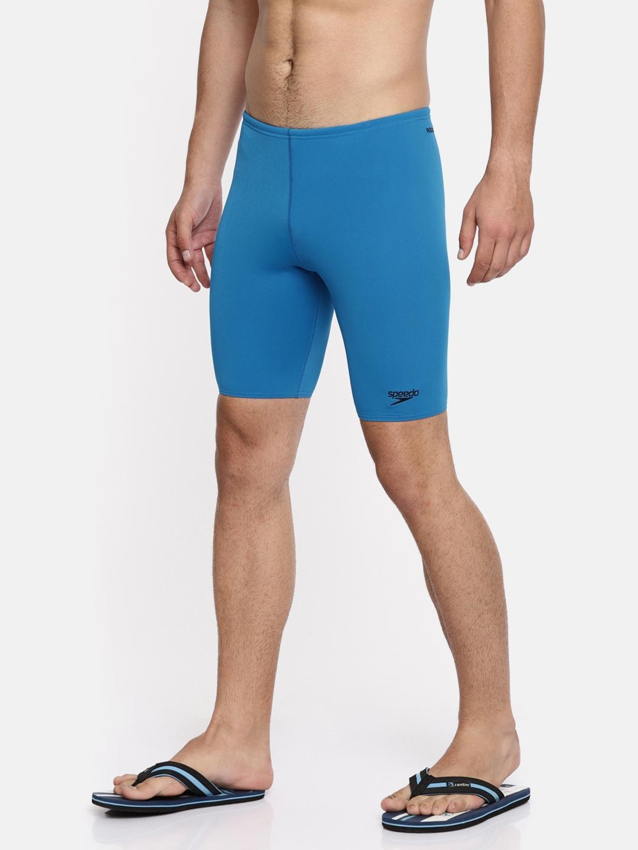 Speedo Men Blue ESSENTIAL ENDURANCE+ JAMMER Swim Shorts 800722B490