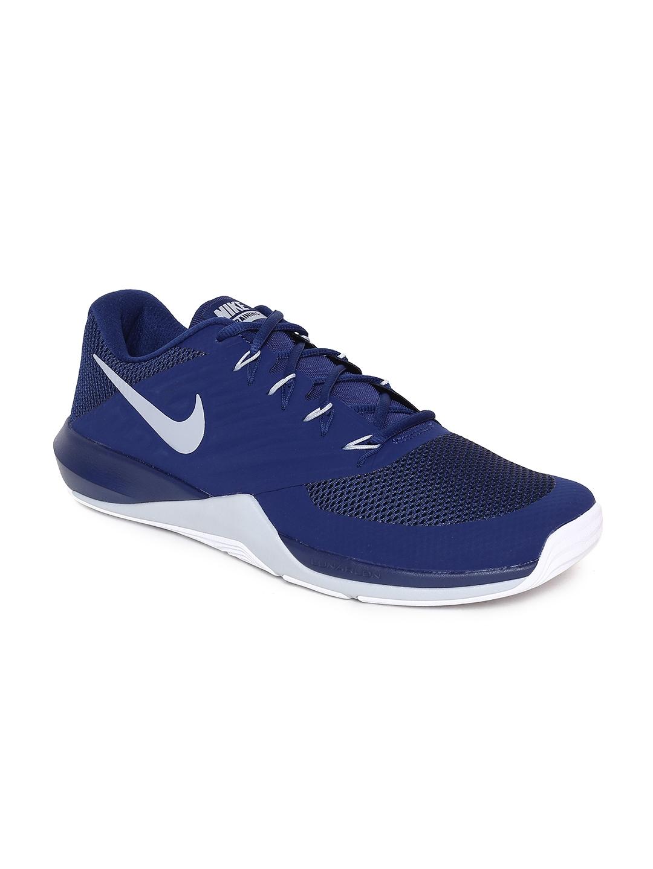 cheaper b1d92 f9a40 Nike Men Blue Lunar Prime Iron II Training Shoes