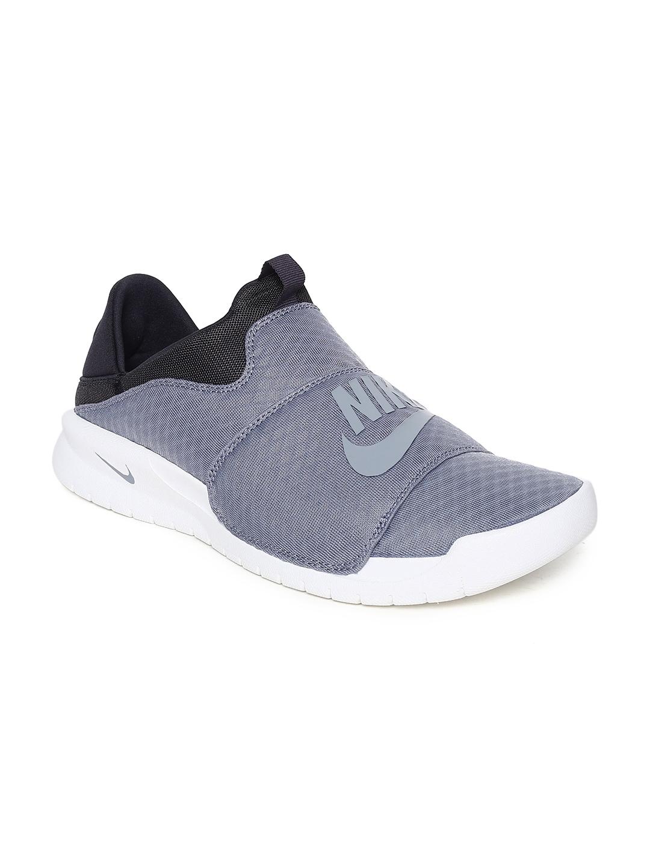 Buy Nike Men BENASSI SLP Grey Slip On Sneakers - Casual Shoes for ... e2ade2c91
