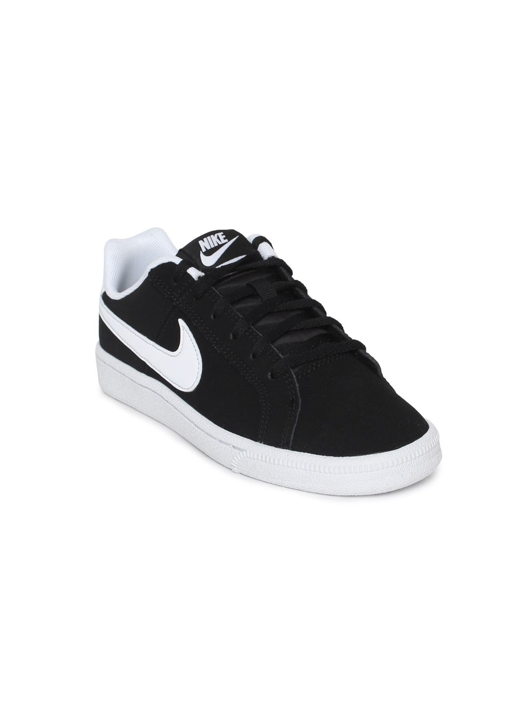 a6ca05a2a Buy Nike Boys Black Solid Court Royale (GS) Sneakers - Casual Shoes ...