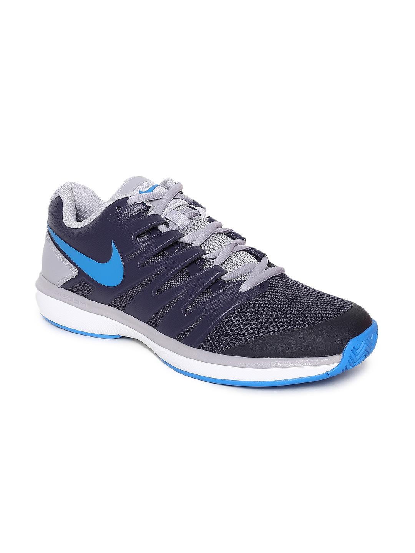 e24a2c9e5d57 Buy Nike Men Navy Blue Air Zoom Prestige Tennis Shoes - Sports Shoes ...