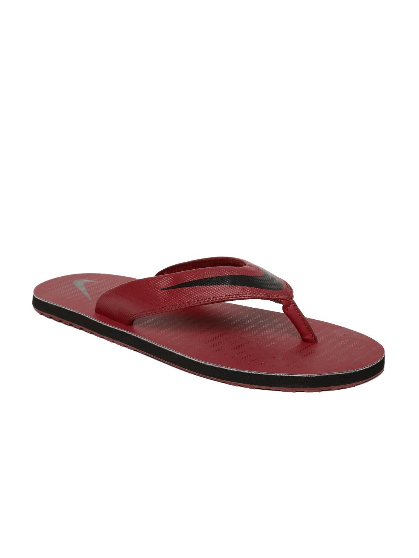 6f22f047e61 Buy Nike Men Red   Black Printed Chroma Thong 5 Flip Flops - Flip ...