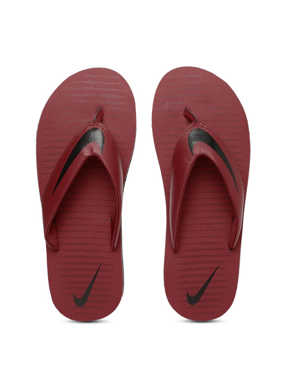 8878921def94 Buy Nike Men Red   Black Printed Chroma Thong 5 Flip Flops - Flip ...