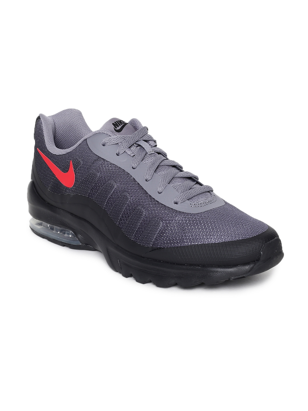 Buy Nike Men Grey AIR MAX INVIGOR PRINT Running Shoes - Sports Shoes ... 93f6eb6ac