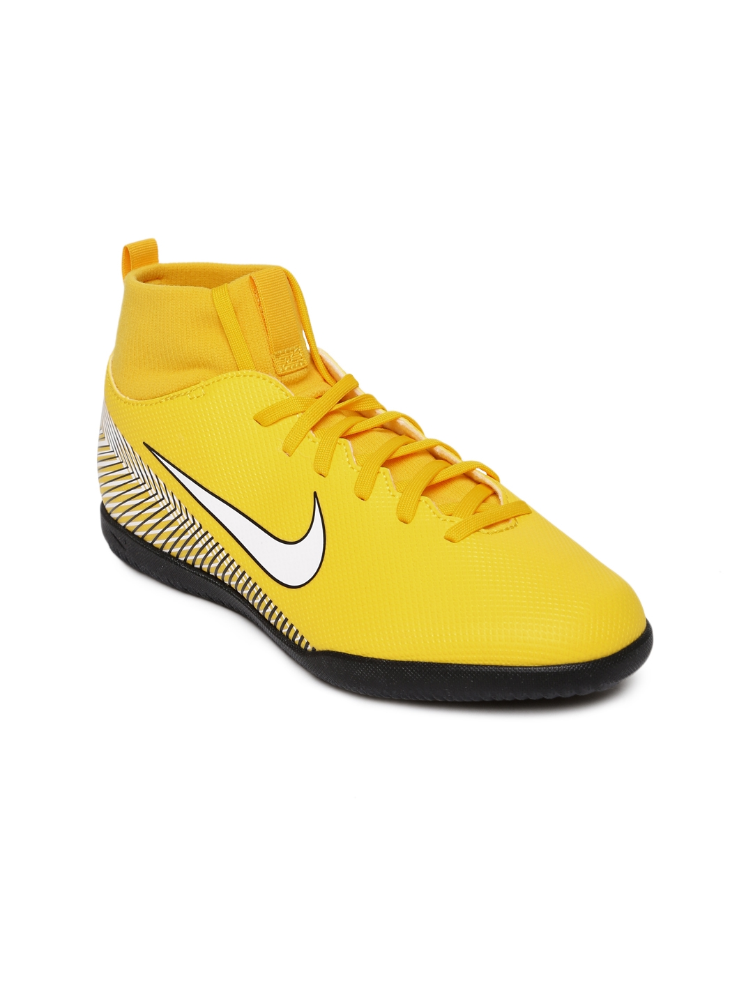 9b6da1963 Buy Nike Kids Yellow Neymar SuperflyX 6 Club IC Football Shoes ...