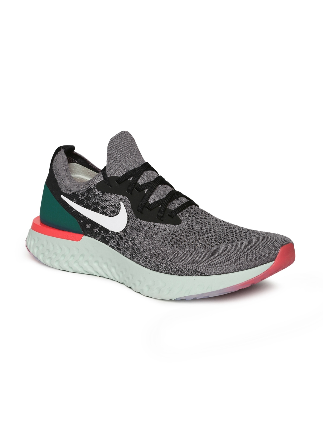 8e4acae49070c Buy Nike Men Grey Epic React Flyknit Running Shoes - Sports Shoes ...
