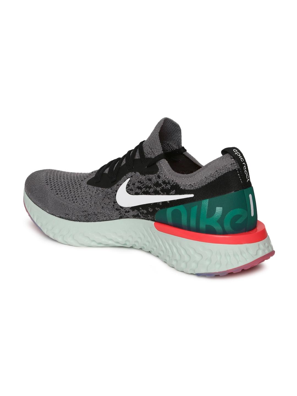 723e61e8c06d0 Buy Nike Men Grey Epic React Flyknit Running Shoes - Sports Shoes ...