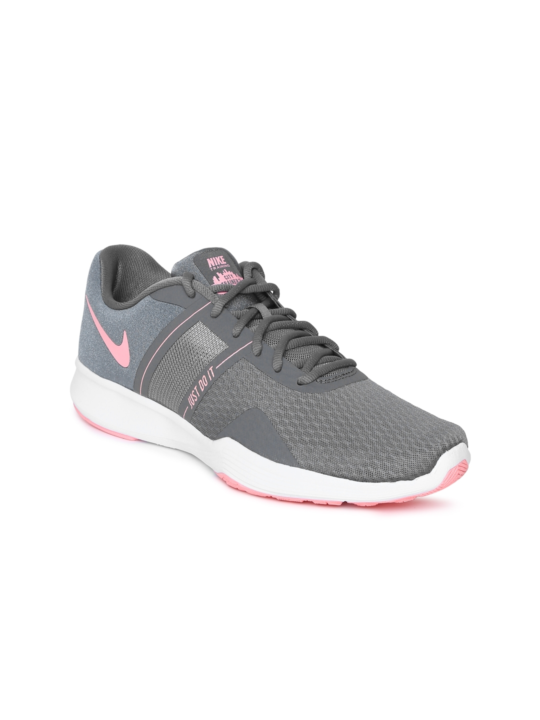 factory price e1fa3 963ca Nike Women Grey   Pink CITY TRAINER 2 Training Shoes